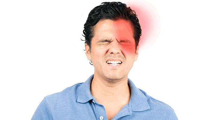 اسباب الصداع النصفي مع الم العين اليسرى أو اليمنى عدسات