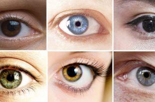 لون العدسات المناسب للعيون الصغيره 1