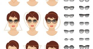 نظارات تناسب الوجه الطويل