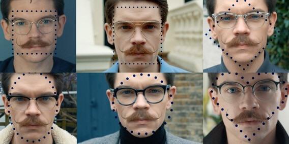 النظارات المناسبة لكل وجه للرجال
